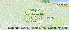 Map of Picos de Europa