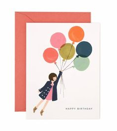 Fly Away Birthday Card | Rifle Paper Co.