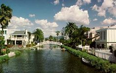 Venice California originally was to be a copy of Venice, Italy, canals and all. Few of the original canals remain today.