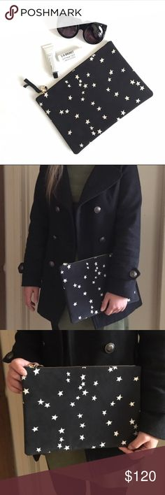 AUTHENTIC Claire Vivier Star Clutch BRANDNEW So cute for any occasion! It's so easy to match with any outfit :) feel free to make an offer Made in USA  Height:8in Length:11.5in Clare Vivier Bags Clutches & Wristlets