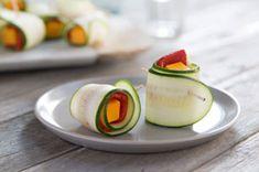 Zucchini Ribbon Roll-Ups