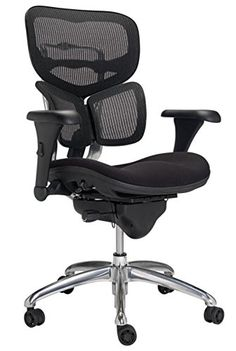 WorkPro Commercial Mesh Back Executive Chair, Black WorkPro