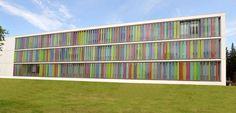 Pantalla solar de vidrio para fachadas - SAHEL - SAB INTERNATIONAL