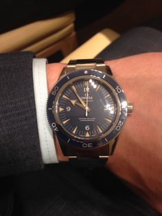 #Baselworld2014 #Switzerland #Omega #Seamaster #300 #Timepiece #smart #Watch #New