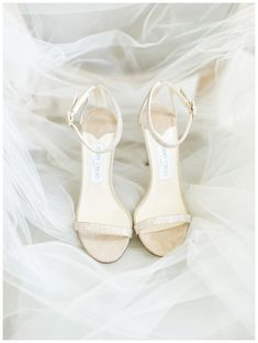 Wedding shoes by Jimmy Choo. Image by Rachel May Photography.