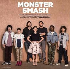 Finn Wolfhard | Noah Schnapp | Millie Bobby Brown | Caleb McLaughlin | Gaten Matarazzo | the Duffer Brothers | Stranger Things | Monster Smash |