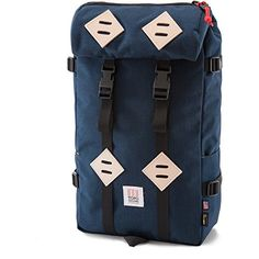 8379b17431c5c Topo Designs Klettersack Packcloth Hiking Pack Navy *** You can get  additional details at