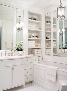 Small Bathroom Solution: Mirrored Walls Inspiration & Ideas   Apartment Therapy