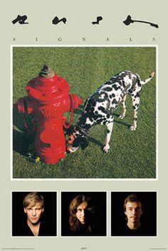 Rush SIGNALS (1982) Album Cover Poster (Geddy Lee, Alex Lifeson, Neil Peart) - Aquarius Images