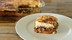 moussaka griechisch Greek Moussaka Recipe - The Cooking Foodie Meat Cake, Musaka, Passionfruit Recipes, Greek Cooking, Greek Dishes, Cooking Recipes, Healthy Recipes, Foodblogger, Mediterranean Recipes