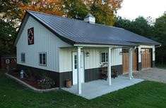 Ryan Shed Plans Shed Plans and Designs For Easy Shed Building! — RyanShedPlans Belle Plaine MN Garage and Hobby Shop Lani Driscoll Lester Buildings Pole Barn House Kits, Pole Barn Garage, Pole Barn Homes, Pole Barns, Barn Houses, Pole Buildings, Shop Buildings, Barn Plans, Shed Plans