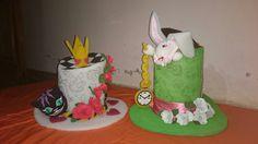 Sombreros de espuma Alice in wonderland
