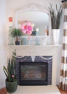 """hosting a girl's weekend"" decorating ideas from The Nesting Place. loving some of these for Galentines Day"