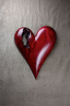 I love this carved heart!