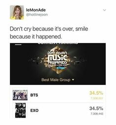 finally it has been proven: we are equals, and I salute you BTS for the good fight! ^>^