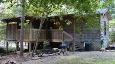 On the Creek 1 Bedroom Cabin at Parkside Cabin Rentals
