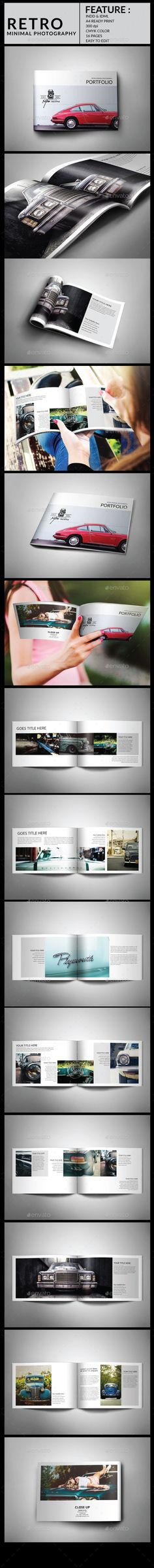 Agency Brochure - retro brochure template