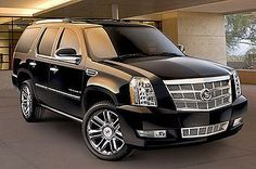 Cadillac Escalade: The car you roll around with your friends and family in.....