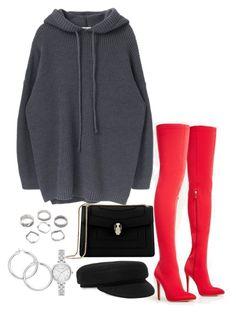 """""""Untitled #4589"""" by theeuropeancloset ❤ liked on Polyvore featuring Bulgari, Isabel Marant and Kate Spade"""