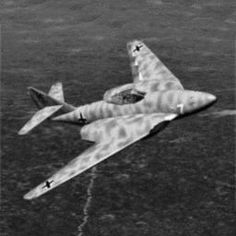 ME 262 HGIII project  with better streamlined hull  with stronger engines and sharper backwings