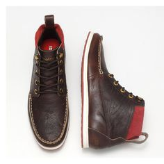 Tretorn Walden Boot Leather. I LOVE Tretorns. Wish I had more pairs and I wish this was one of them.