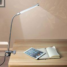 Adaptable Led Desk Light Desk Table Lamp With Cliptouch Sensor Control 3 Level Adjustable Brightness Less Expensive Lights & Lighting
