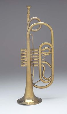 Valved trumpet about 1840 Charles Mahillon, Belgian, Brussels, Belgium Brass Musical Instruments, Brass Instrument, Sound Art, Sound Of Music, Trumpet Players, Cool Jazz, French Horn, Saxophone, Museum Of Fine Arts