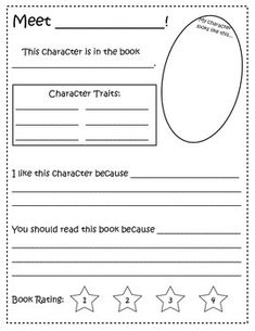 Writing a paragraph about a book character?