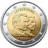 2 euro 25th Birthday of Hereditary Grand Duke Guillaume - 2006 - Series: Commemorative 2 euro coins - Luxembourg