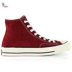 SCARPA UOMO CONVERSE ALL STAR PREM HI 1970'S SUEDE 149441C (42 - RED) - Chaussures converse (*Partner-Link)