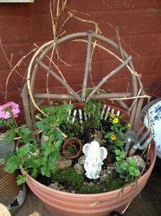 Mini garden, fairy garden, mini garden inspiration,