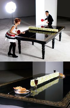 PING-PONG Dining Table