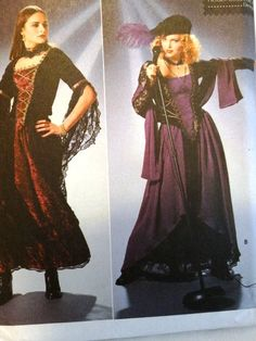 1999 Goth Style Halloween Costume Patterns by TheIDconnection, $45.00