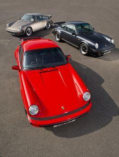 Porsche 911 Carrera 3.2 and 911 SC