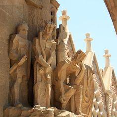 "Jesus, the Last Day, Sagrada Familia Cathedral - Gaudi, Barcelona, Spain - Framed Photo Art Print, 11""x 14"" by Romagosa Fine Arts, http://www.amazon.com/dp/B00GOGNR2W/ref=cm_sw_r_pi_dp_d5yHsb1WRGP8G"