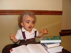 "26 Of The Best Kids' Halloween Costumes Ever | Bored Panda - ""Einstein"" more of a boys dress up"