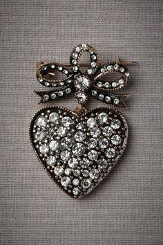Pretty jewelled heart!