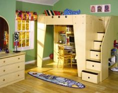 Full Size Loft Bed Plans | ... welcome to the mother of all loft beds the headquarters loft bed