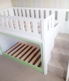 Stairs Bunk Beds Advantages for Two Kids #BunkBeds #KidsBeds #Beds #Beddings