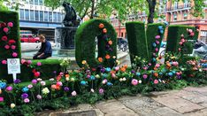 Can you feel the love in Sloane Square? London is in full bloom for the Chelsea Flower Show