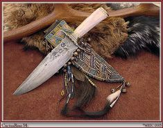Frontier Knives and Sheaths | CactusRose14-Knife-Sheath