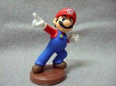 JAPAN Edition Toy  Nintendo SUPER MARIO Mini Figure - Winning Pose Mario