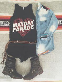 Mayday Parade Band tee