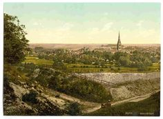 new to site Salisbury, General view, England