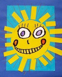 Image result for summer kindergarten art projects