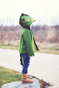 coat dragon kid  fashion photography