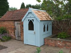 Posh Sheds are different. We design and build wooden sheds only of the highest quality. Above all, your new Posh Shed is designe Painted Garden Sheds, Cottage Garden Sheds, Painted Shed, Garden Shed Diy, Garden Storage Shed, Wooden Garden, Mini Shed, Posh Sheds, Cuprinol Garden Shades