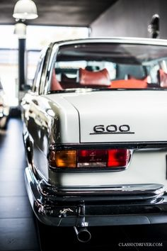 Mercedes Benz – One Stop Classic Car News & Tips Mercedes 600, Mercedes Benz Cars, Mercedes W114, Mercedes Models, Mercedez Benz, Old School Cars, Classic Mercedes, Best Classic Cars, Old Cars