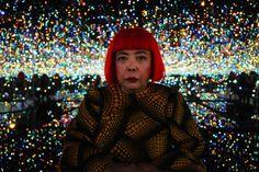 【スライドショー】草間彌生の作品展、ニューヨークで開催中 - WSJ.com