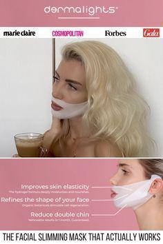 Massage, Beauty Secrets, Beauty Hacks, Beauty Tips, Beauty Care, Hair Beauty, Reduce Double Chin, Double Menton, Face Contouring